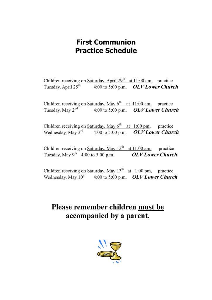 Practice date 2017